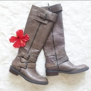 Enzo Angiolini Leather Riding Boots
